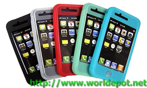 Silicon Case For iPhone 3G & 3GS