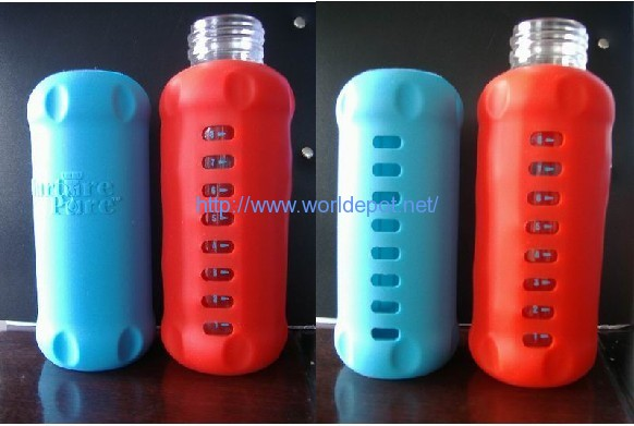 silicone baby feeding bottle sleeve