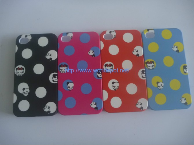 Water Transfer Printing For iPhone 4 PC Case