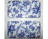"""Blue and white porcelain"" iPhone 4/4S case, IMD & PC"