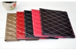Patent Leather With Lozenge iPad Case, Fashion design, Hot sales