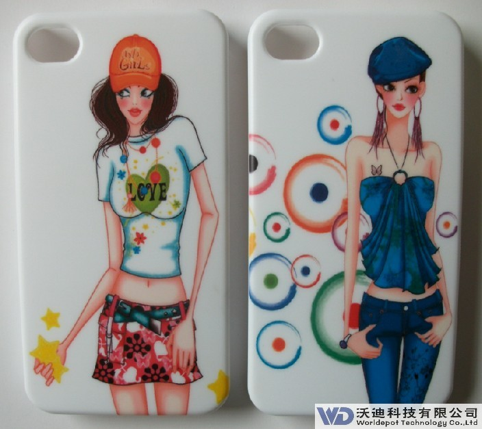 IMD iPhone 4/4s pc case, Matting surface, Classical & Superior Quality, Factory Offer