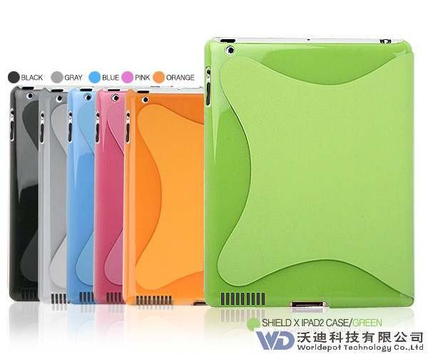 Ultra-thin Crystal iPad Case,Hot Sales,Factory Offer