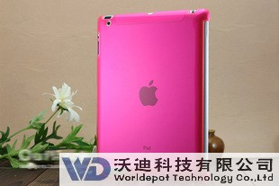 Clear on single side iPad case, Classical Offer, Hot Sales